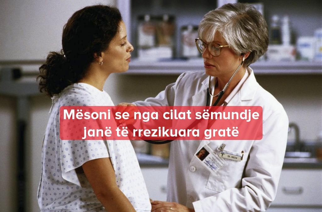 Problemet Shëndeti Gruaja