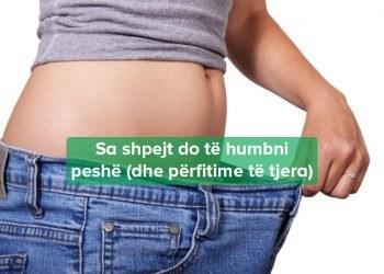Si të humbni peshë shpejtë