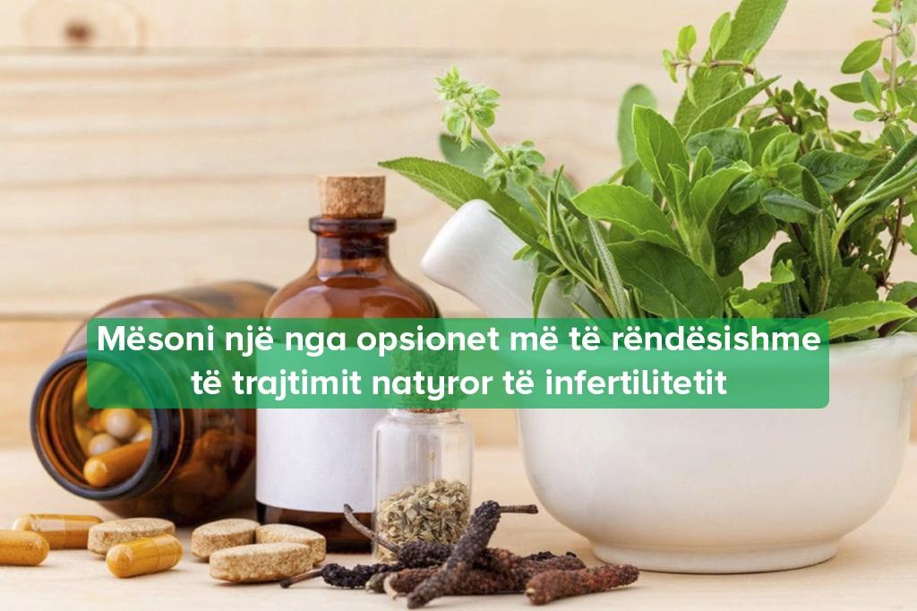 trajtimi natyral i sterilitetit