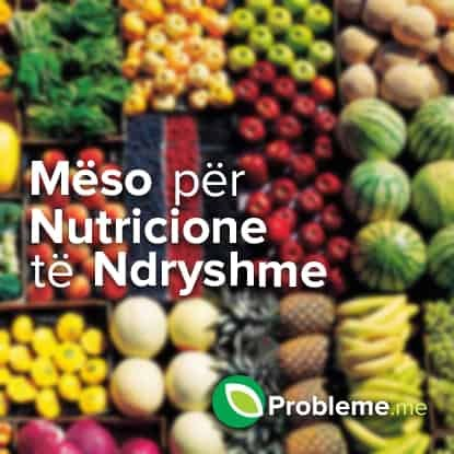 nutricione te ndryshme