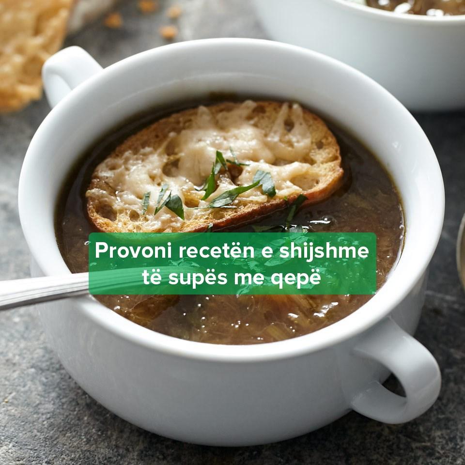 Recetë Supë Qepë