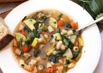 Recetë e Supës Minestrone