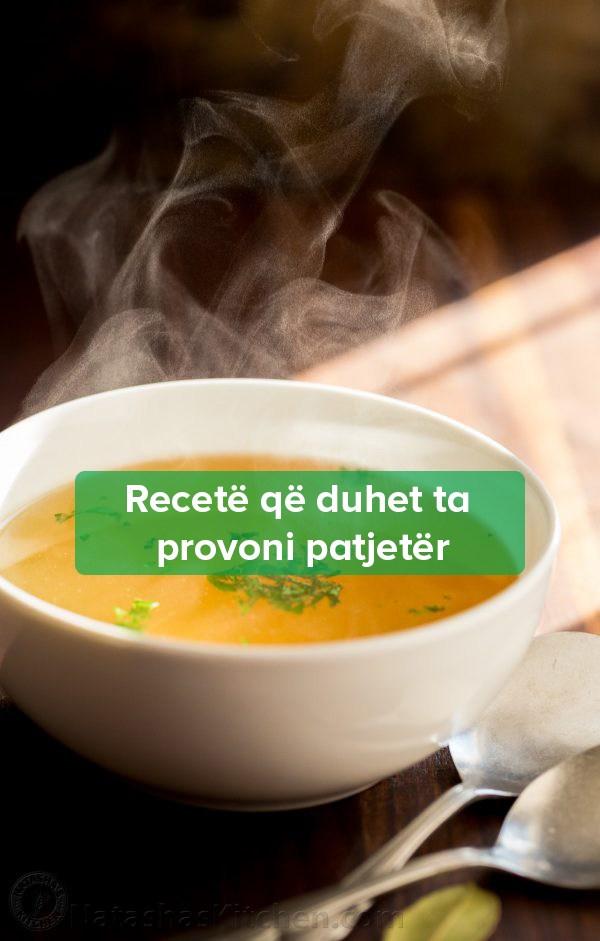 Recetë e Supës me Kocka të Pulës