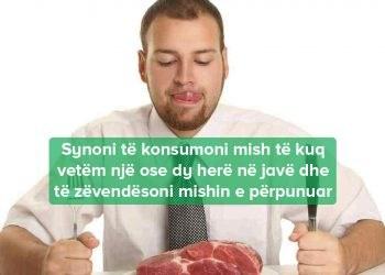 sasie sigurt mishit per ngrenje
