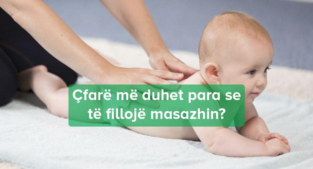 Masazhimi i foshnjës suaj