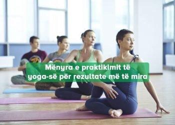 Koha Përshtatshme Bërë Yoga