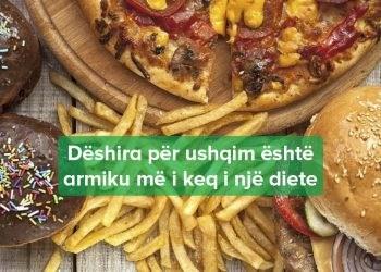Ndalo Dëshirën për Ushqime të Pashëndetëshme