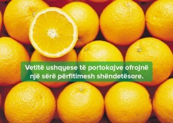 Përfitimet Shëndetësore të Portokajve