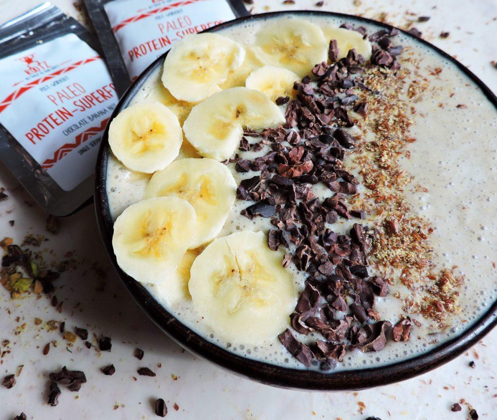 Smoothie me Banane, Bajame dhe Çokollatë