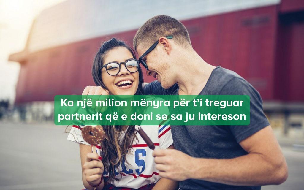 tregoni partnerit se e dashuroni