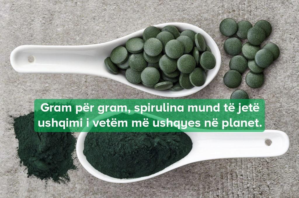 10 Përfitimet Shëndetësore të Spirulinës