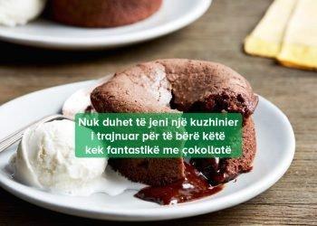 Si të Përgatisni Tortë me Lava të Shkrirë