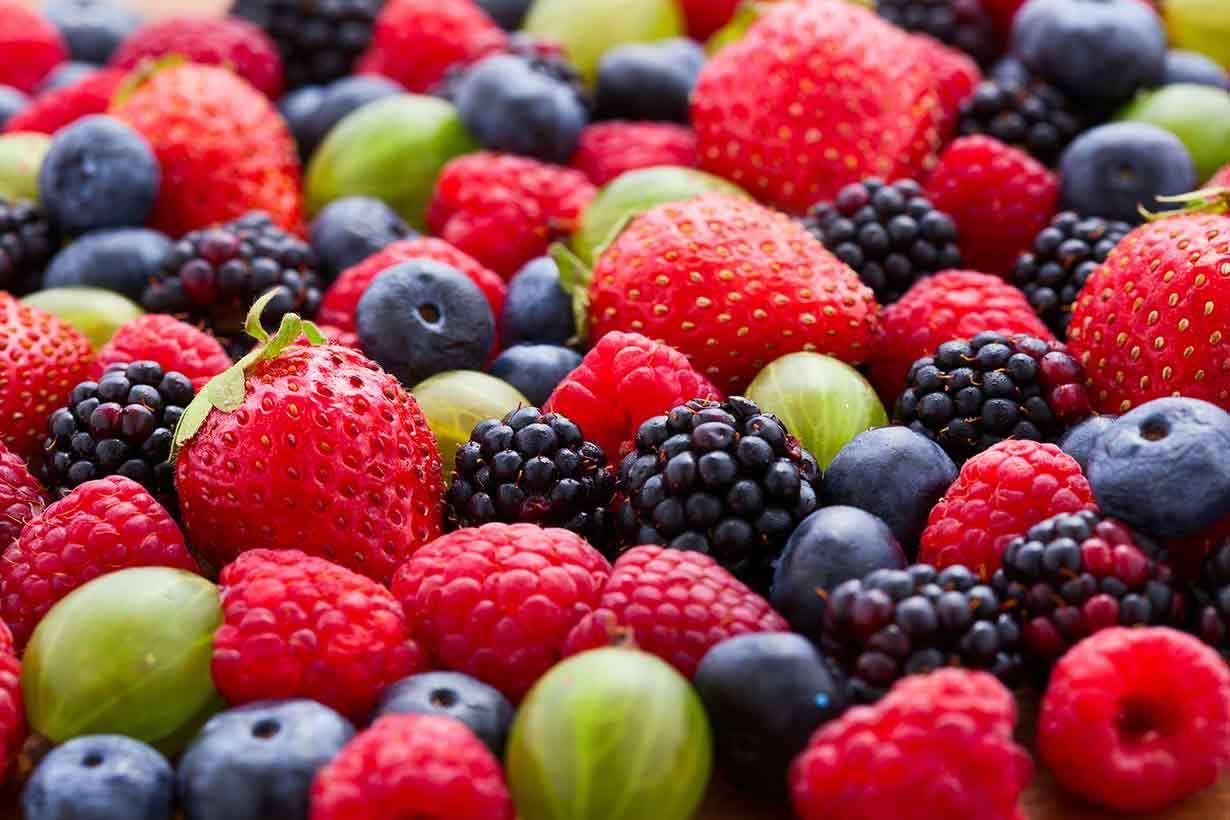 Tetë Fruta me Sasi të Vogël të Sheqerit