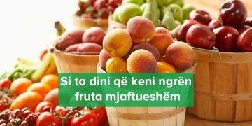 Sa Fruta Duhet Hani