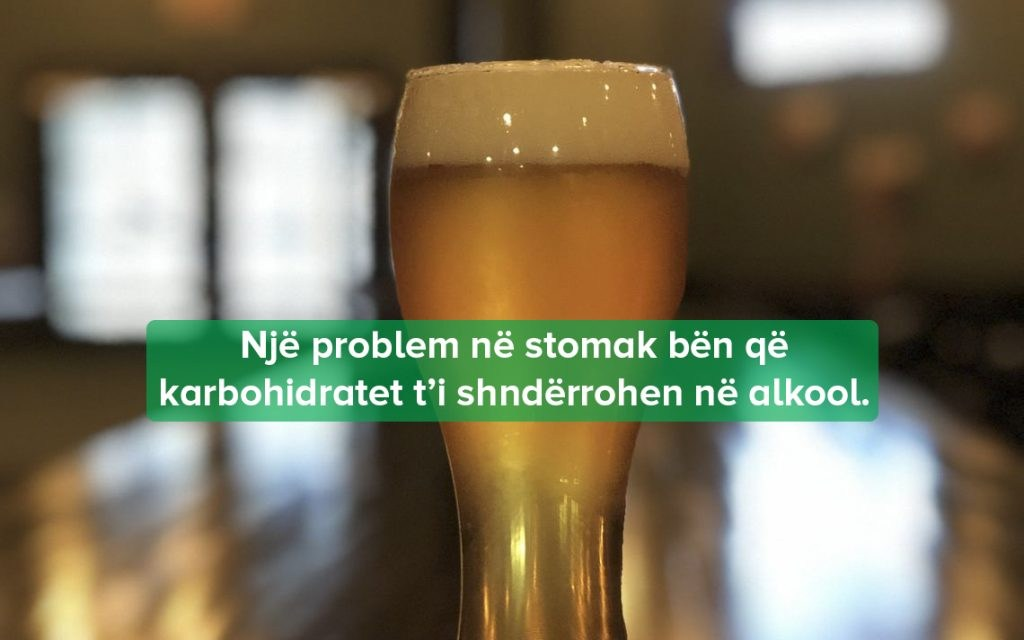 stomaku kthen karbohidratet birrë