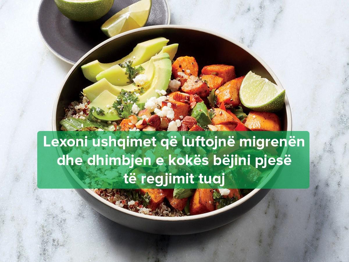 parandalimi i migrenes me ushqim