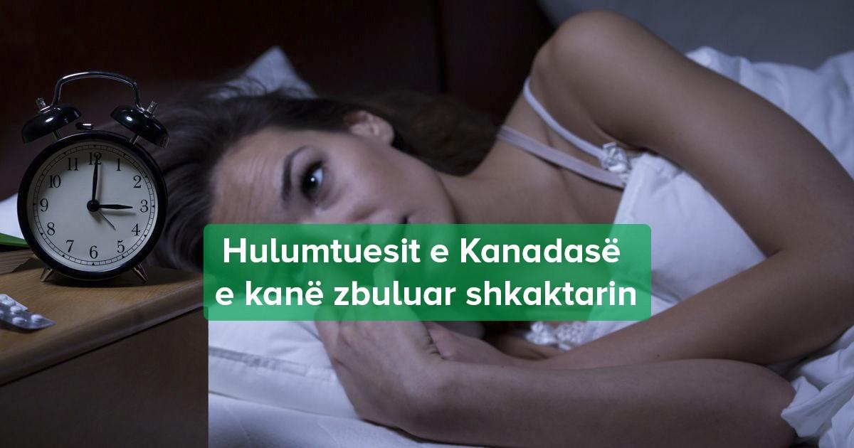 femrat nuk kane gjume si meshkujt